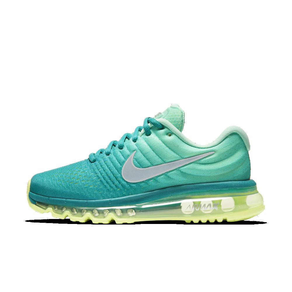 nike air max 2017 blauw groen