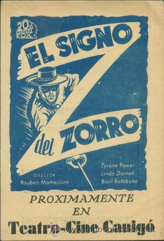EL SIGNO DEL ZORRO - Foto 1