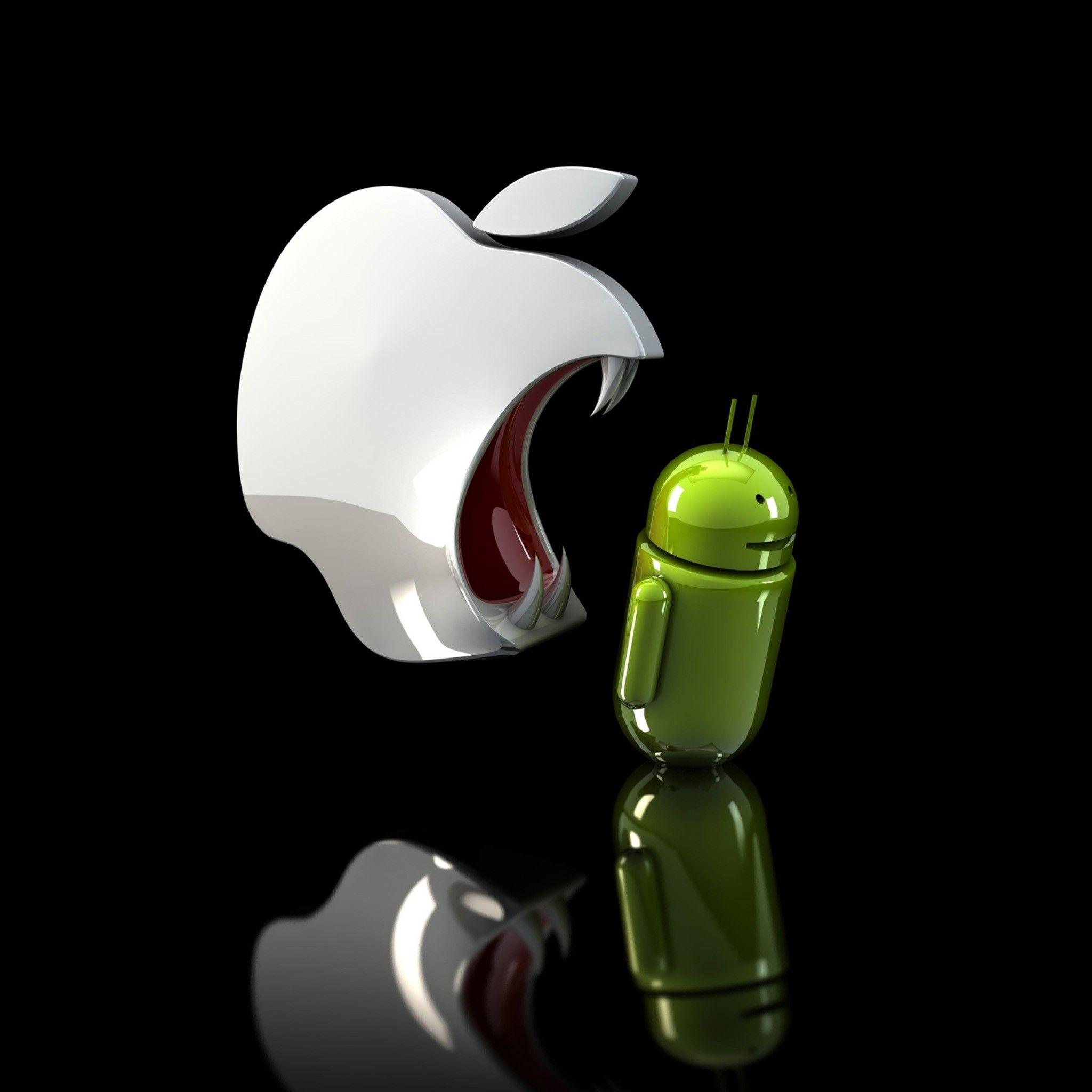 人気104位 Android ドロイド君の壁紙 Ipad タブレット壁紙ギャラリー アンドロイド 壁紙 Android リンゴ