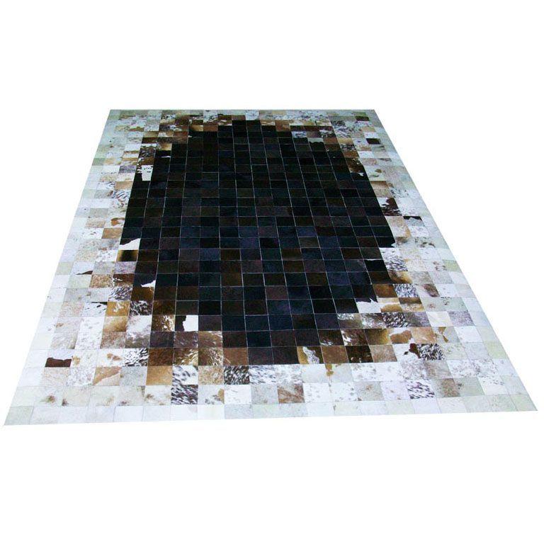 Бело-коричневый ковер из шкур Pizzo #carpet #carpets #rugs #rug #interior #designer #ковер #ковры #коврыизшкур #шкуры #дизайн #marqis