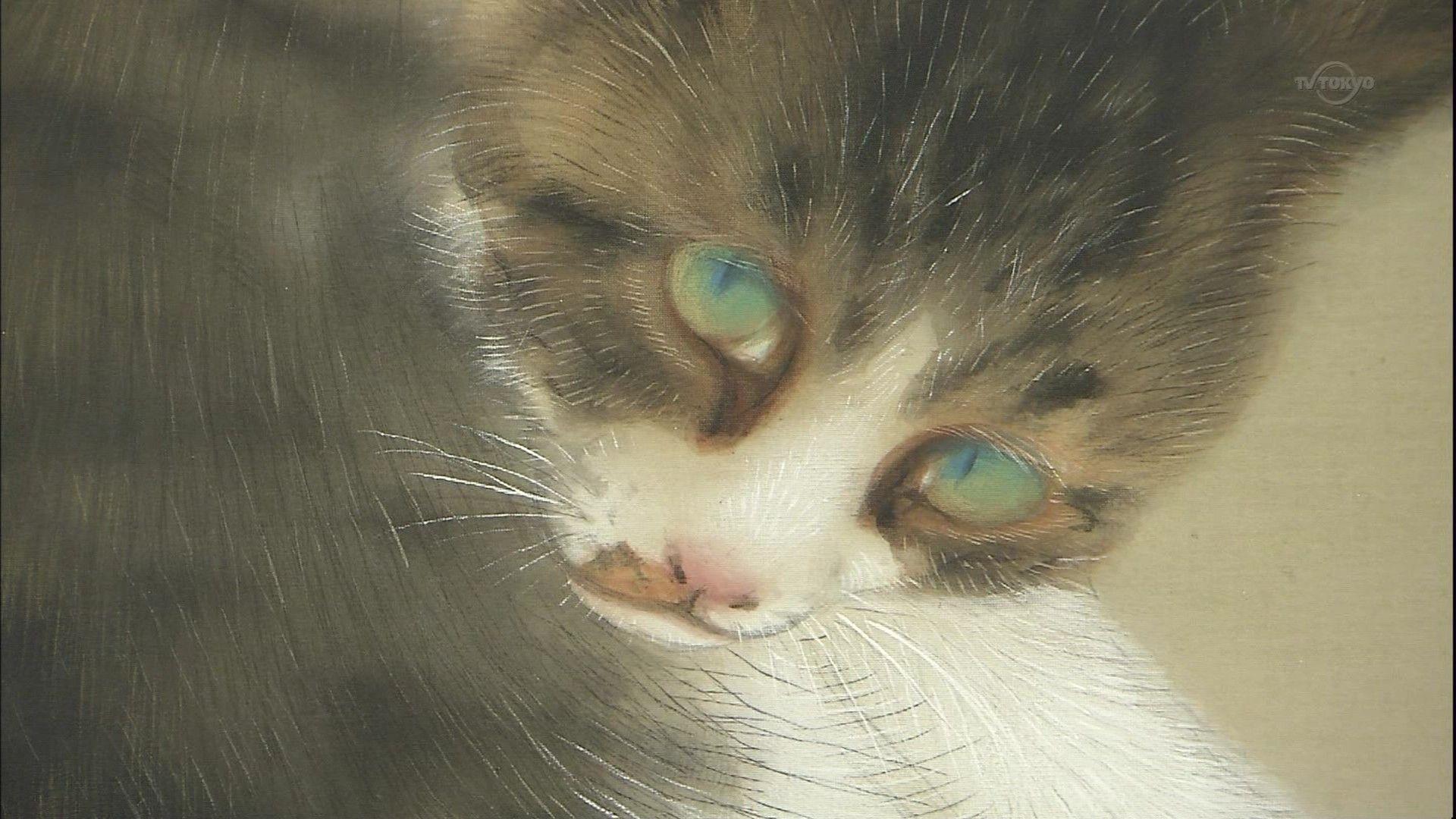 「竹内栖鳳 猫」の画像検索結果