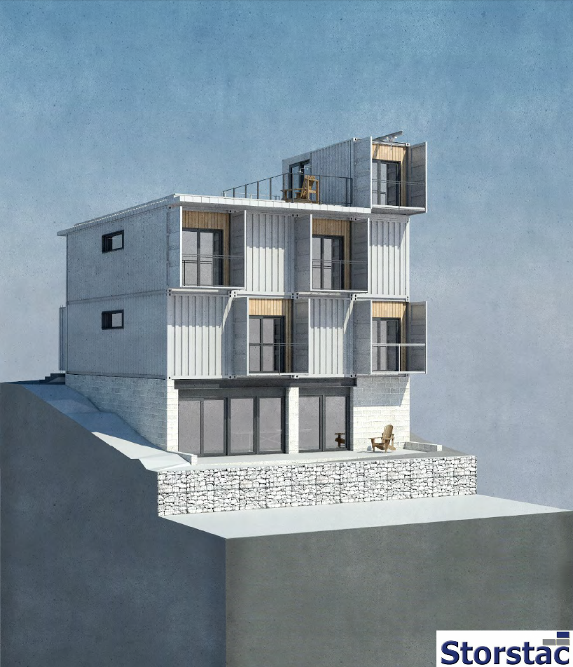 Transferable Container House: All Of The Hamilton Shipping Container House Modification