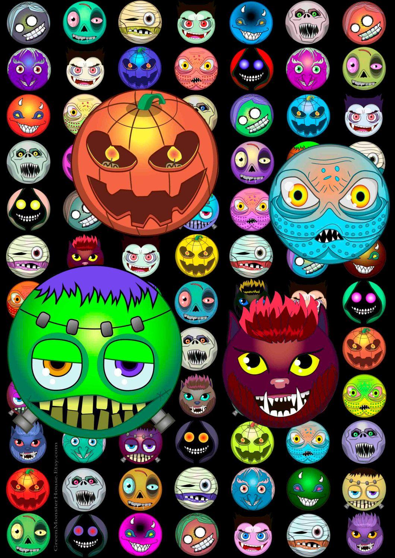 Пин на доске Halloween svg halloween clipart svg monster