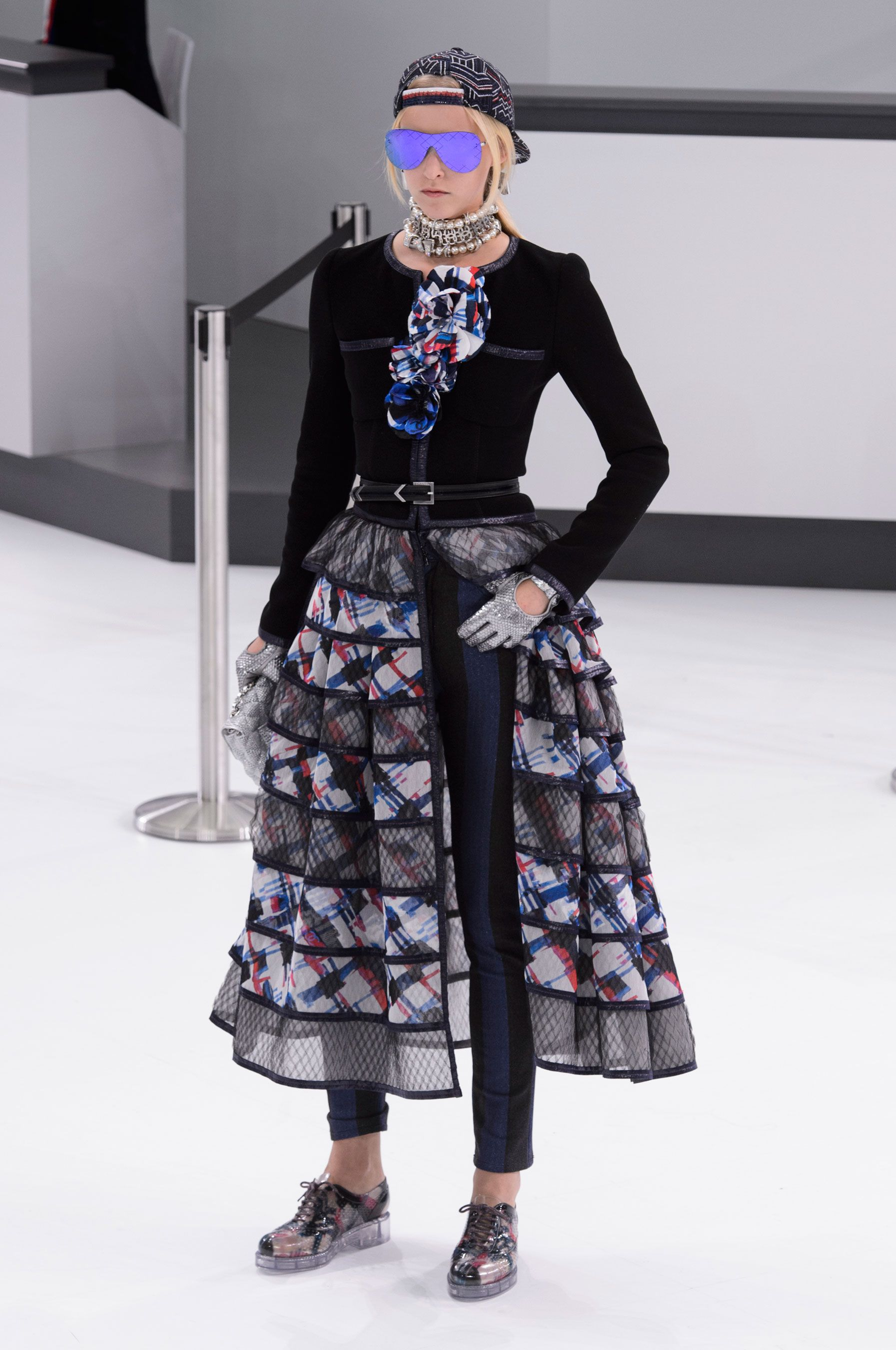 Chanel Wiosna Lato 2016 Spring Summer Fashion Trends Paris Fashion Week Fashion Week