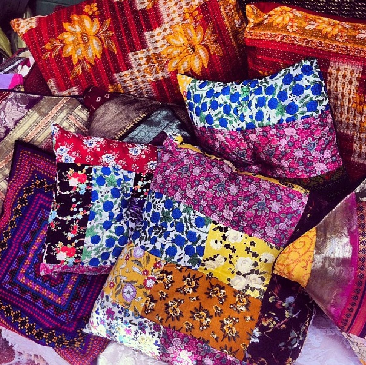 Gypsy mess deco pinterest bohemian pillows and handmade