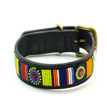 Masai Dog Collar From Kenya Jas Would Look So Cute In This