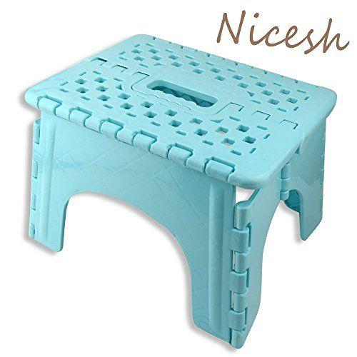 Nicesh Super Quality Folding Step Stool Great For Adults Folding Step Stool Step Stool Stool