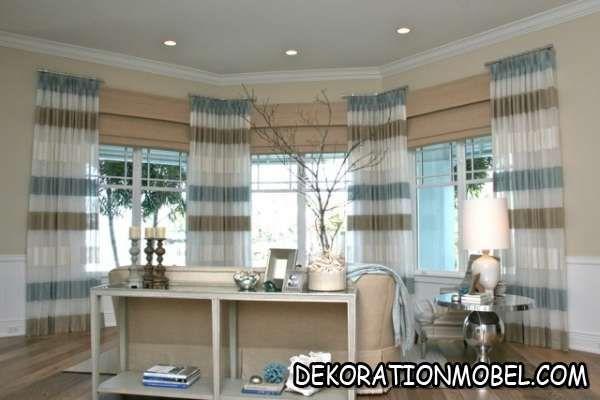 wohnzimmer-beige-blau-konsolentisch-dekorationen-panoramafenster ...
