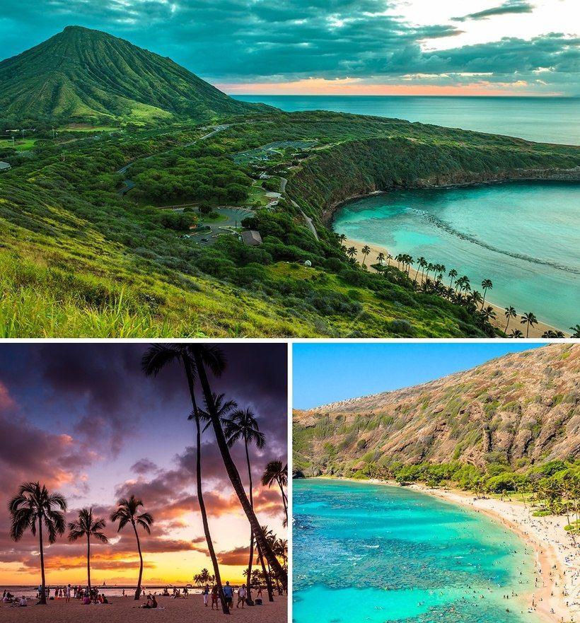 Ханаума Бэй, о. Оаху, Гавайи
