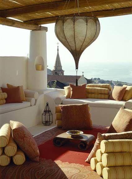 ▲ arabic terrace