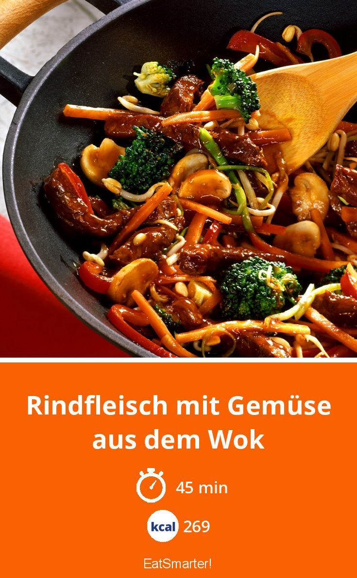 Photo of Beef with vegetables from the wok