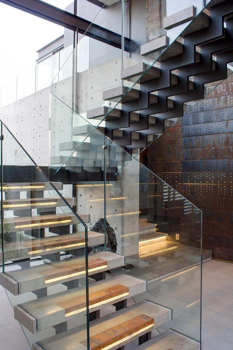 Casas so adas taringa armario pinterest escaliers modernes escalier beton y escalier - Interieur moderne inspirant piliers en beton ...