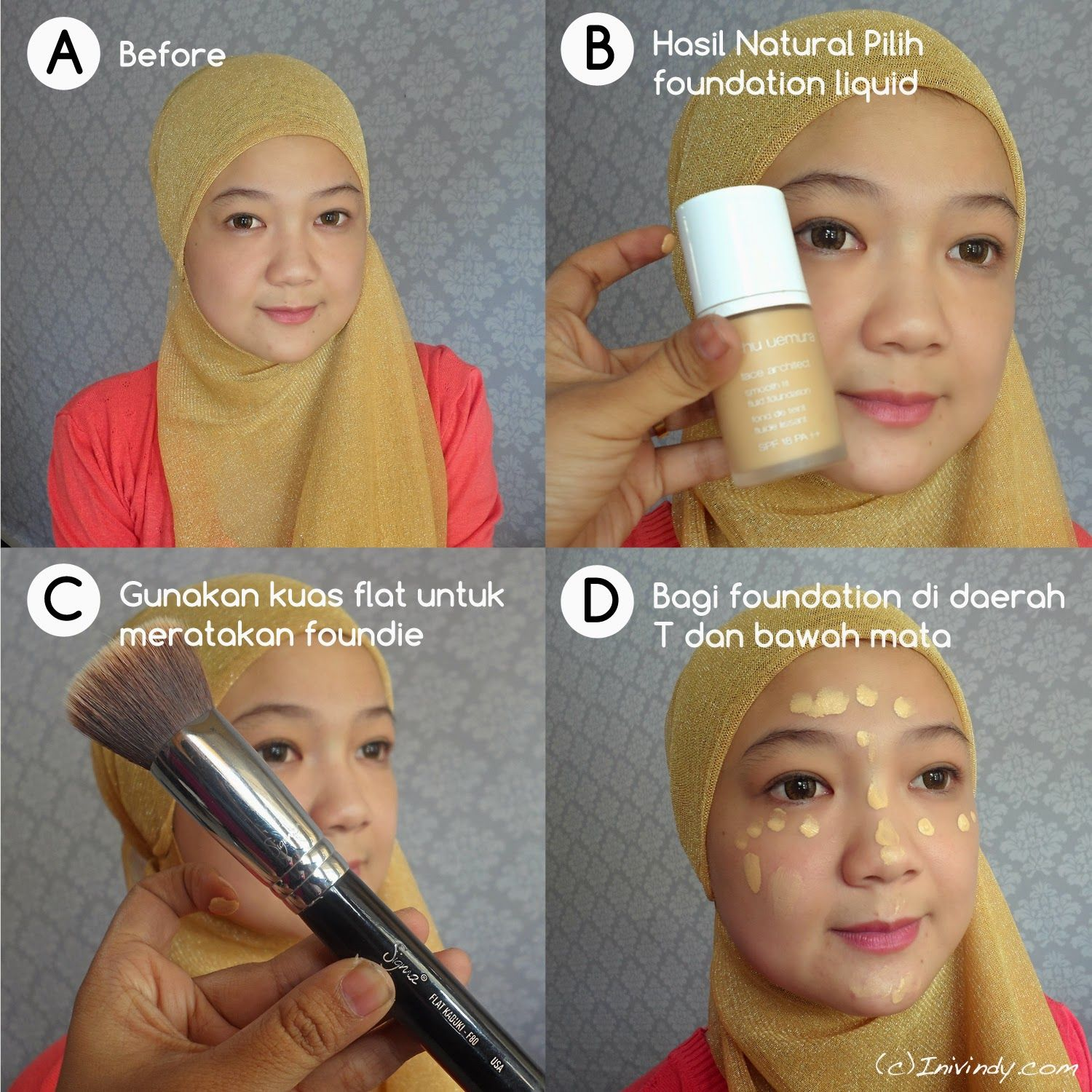 Ini Vindy Yang Ajaib Tutorial Make Up Makeup Unga Pinterest