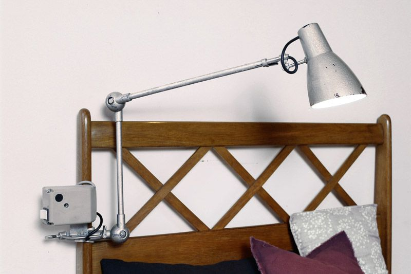 lampe d 39 atelier industrielle vintage lumina ab ann es 60 70 luminaires pinterest atelier. Black Bedroom Furniture Sets. Home Design Ideas