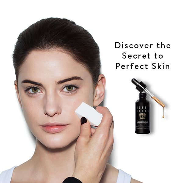 Visit us in-store for the Secret to Perfect Skin Makeup Lesson: featuring the new Intensive Skin Serum Foundation