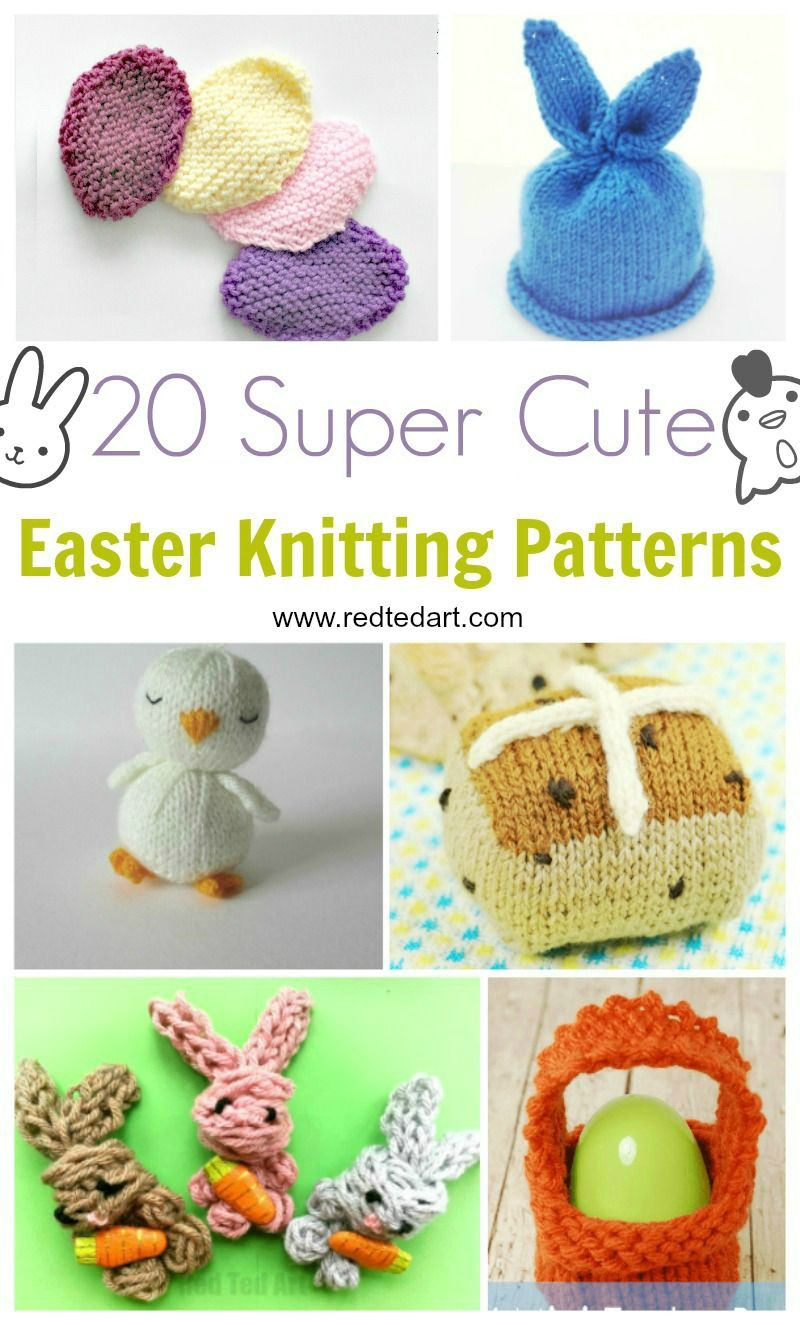 Easter Knitting Patterns | Pinterest | Patrones de tejido, Conejo de ...
