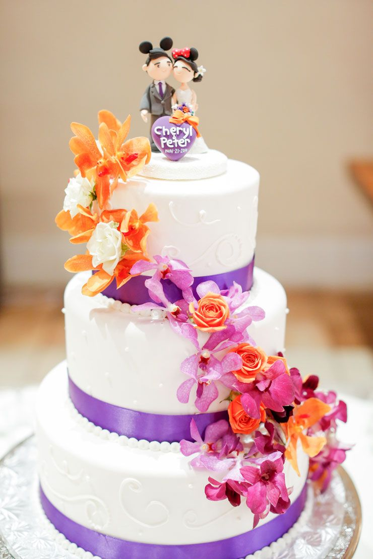 Vibrant Purple Wedding At Casa Real Ruby Hill Winery | Purple band ...