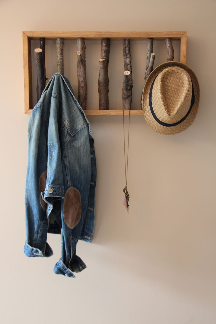 15 Cool Coat Racks That Really Branch Out Wooden Coat Hangers