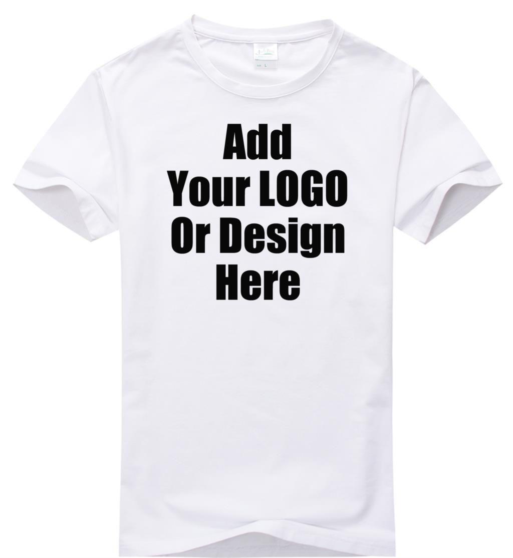 High Quality Custom Shirt Plain Women 200 Grams Logo Diy Tshirt