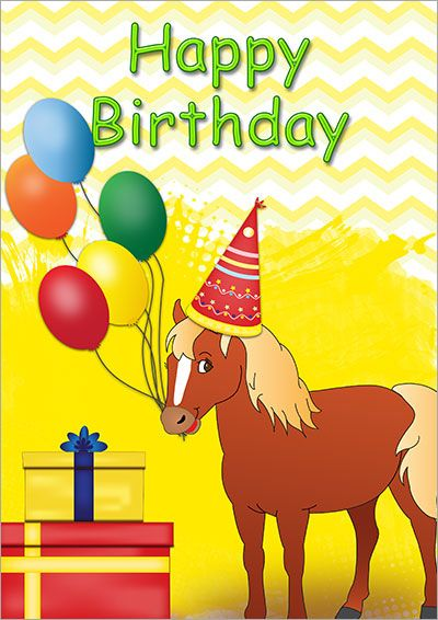 Printable Kids Birthday Cards Pinterest Free