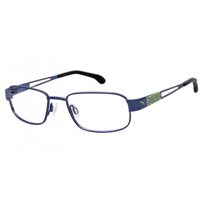 Puma PU 15417 Navy/Clear   Puma Eyeglasses   Pinterest