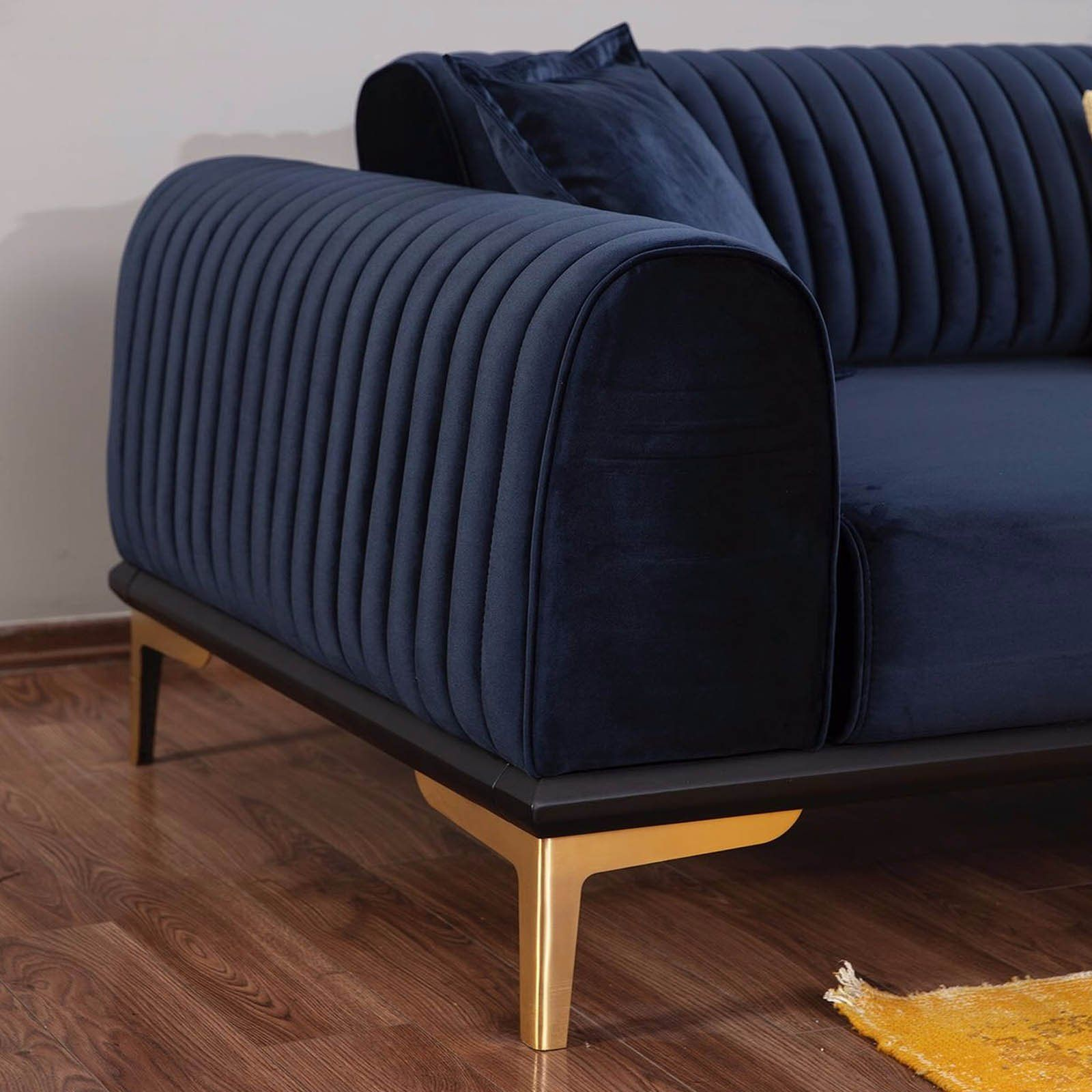 Nirvana 3 Seater Sofa Bed Nirv003 Blue With Images Living Room Sofa 3 Seater Sofa Bed Living Room Sofa Design