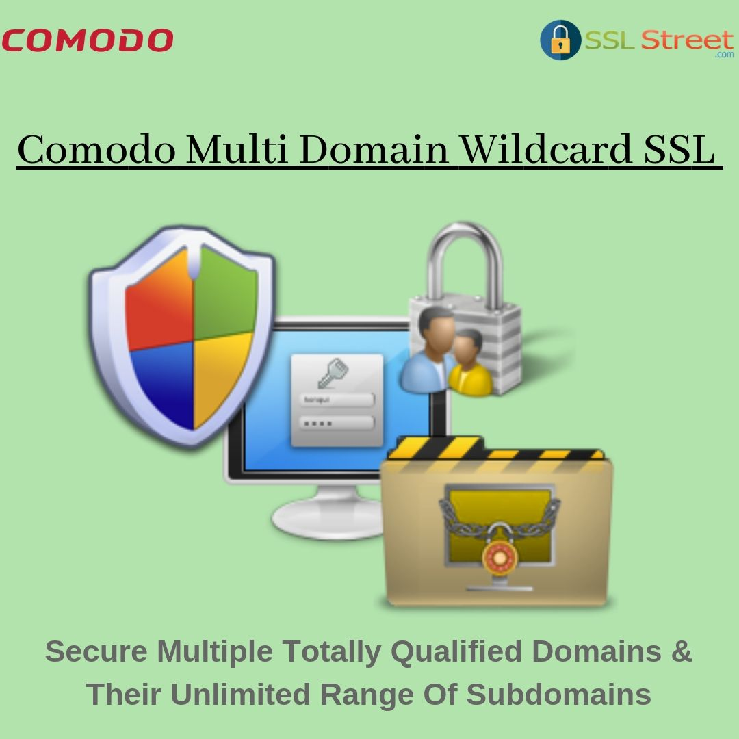 A Multi Domain Wildcard Ssl Certificate Is Accessible With Each