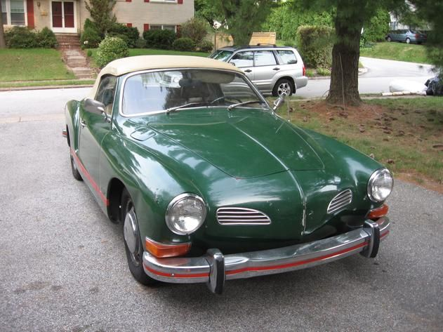 autotrader classics 1972 volkswagen karmann ghia convertible green 4 cylinder manual 2 wheel. Black Bedroom Furniture Sets. Home Design Ideas