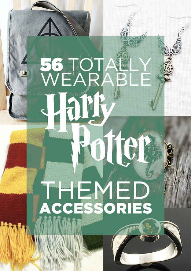 56 Totally Wearable Harry Potter Themed Accessories