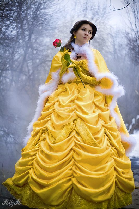 Disney Belle From Beauty The Beast Cosplay Costume That S A Lot
