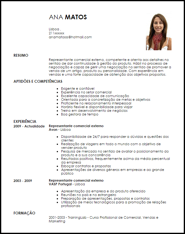modelo carta de apresenta u00e7 u00e3o representante comercial