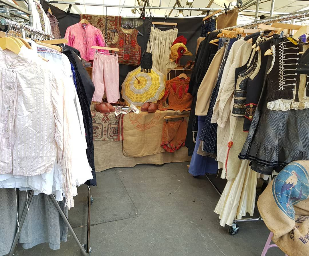 Antique And Vintage Clothing By Cabinet 49 At Portobello Green Market Shopping Outfit Antique Clothing Vintage Outfits