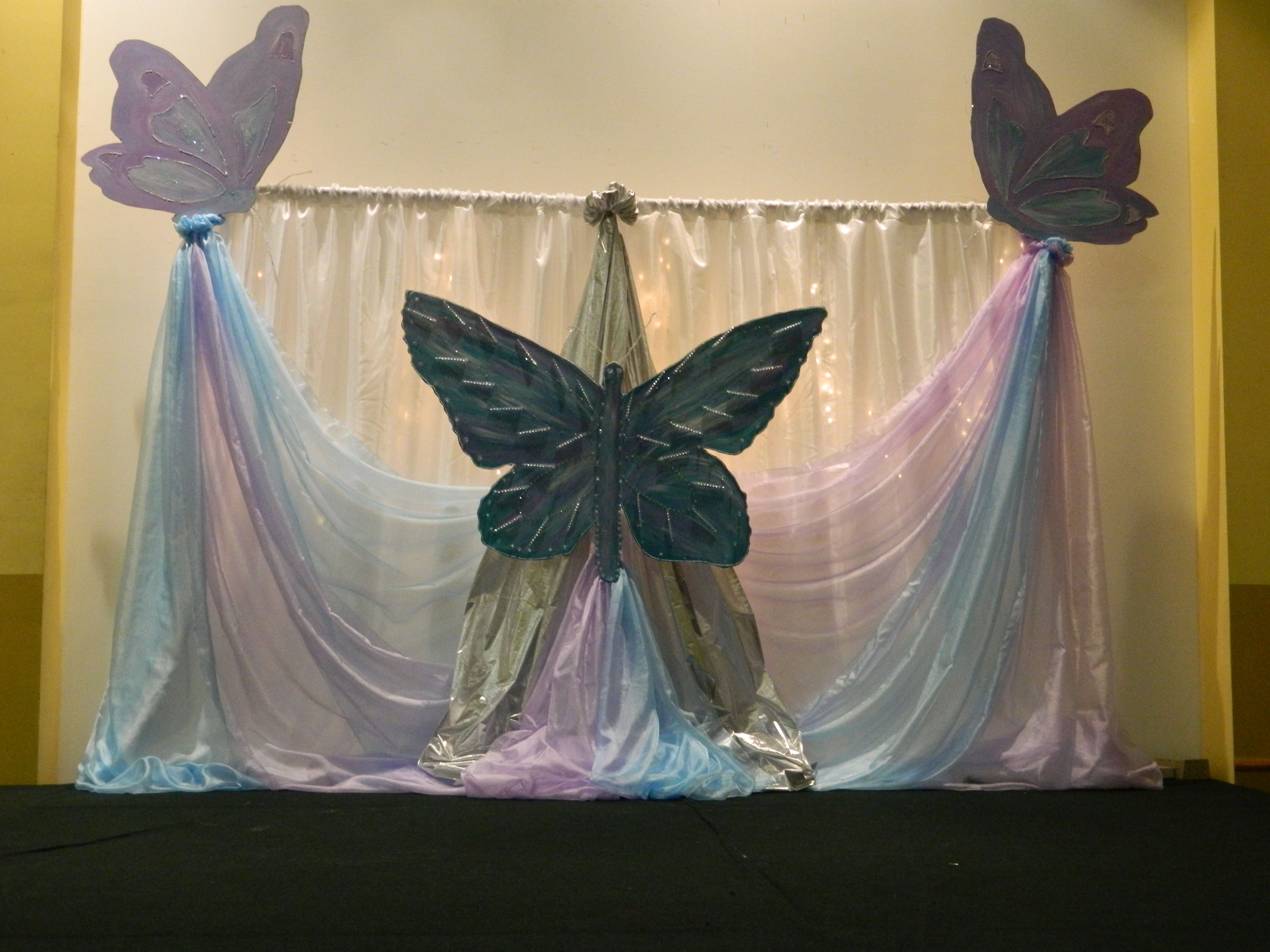 Butterfly Theme Stage Decoration Stage Decorations Butterfly