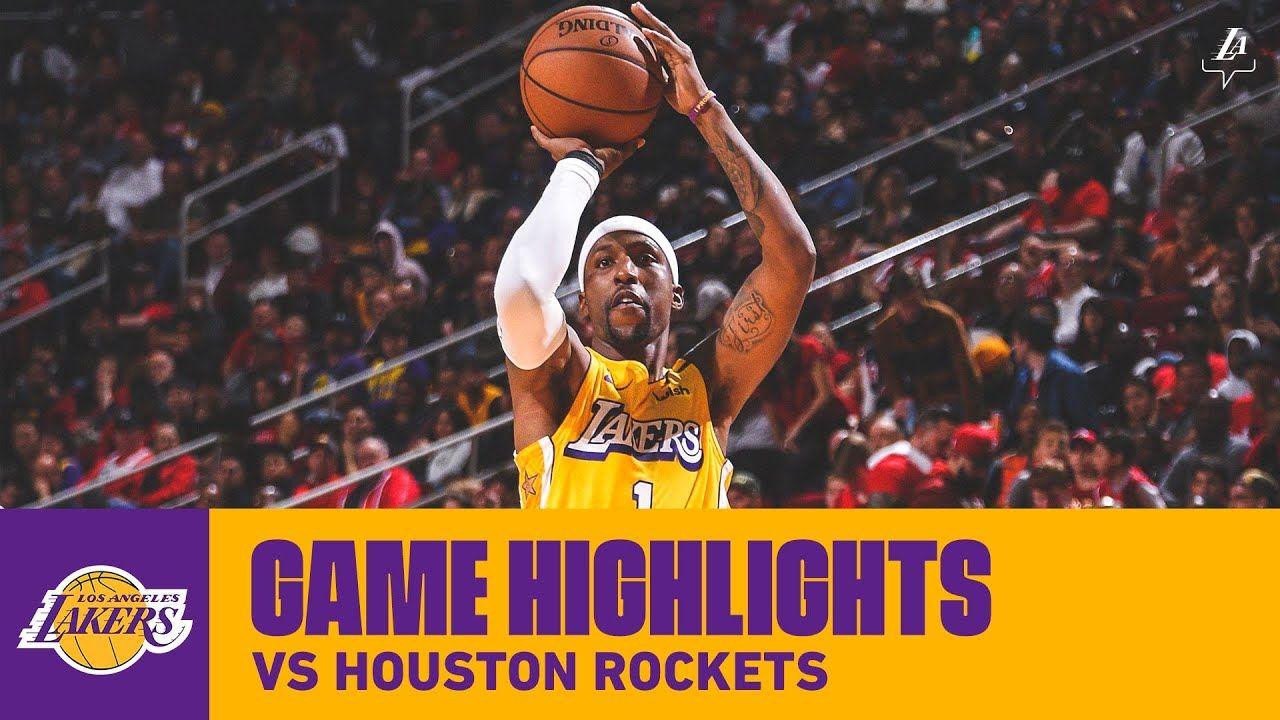 Highlights Los Angeles Lakers At Houston Rockets In 2020 Houston Rockets Los Angeles Lakers Los Angeles