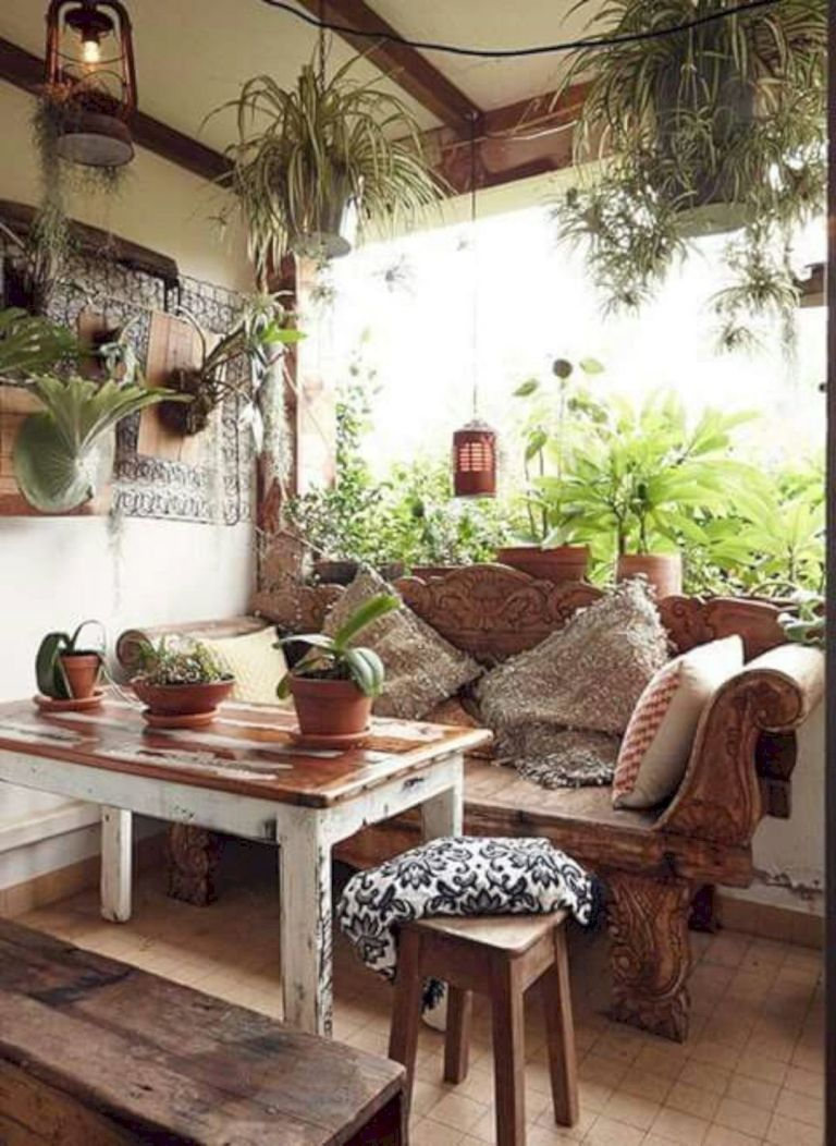 Wonderful 16 Inspiring Bohemian Decoration Ideas To Makeover Your Home 5