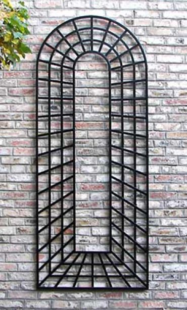 Wall trellis large wall trellis trompe l il trompe for Wall trellis ideas