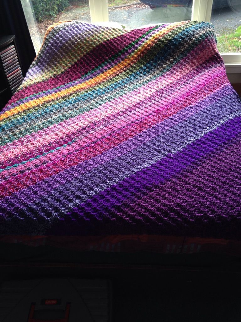 Crochet c2c corner to corner afghan made from scrap yarns the crochet corner to corner afghan made from scrap yarns the ugly afghan pdf pattern at link dt1010fo