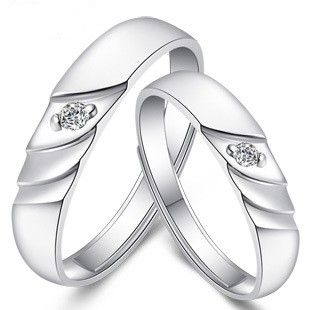 silver wedding rings with diamond for women wedding ideas silver wedding rings for women - Silver Wedding Ring