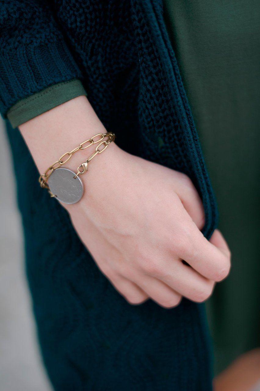 Gypsy bracelet $30 oliveandindigo.com