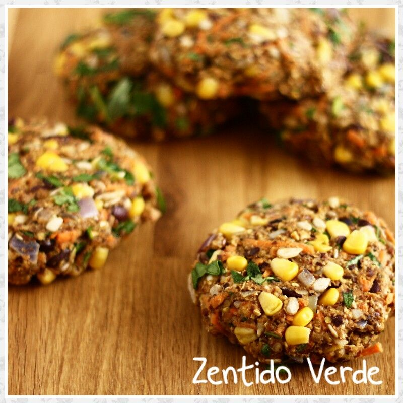 Nuevo producto en Zentido Verde.  Hamburguesas vegetarianas y veganas. Pregunta por ellas!!