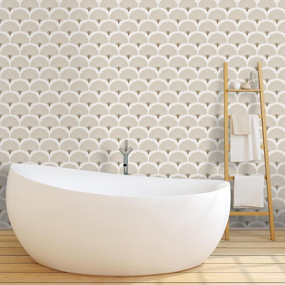 Papier peint salle de bains : des modèles pour adopter la tendance