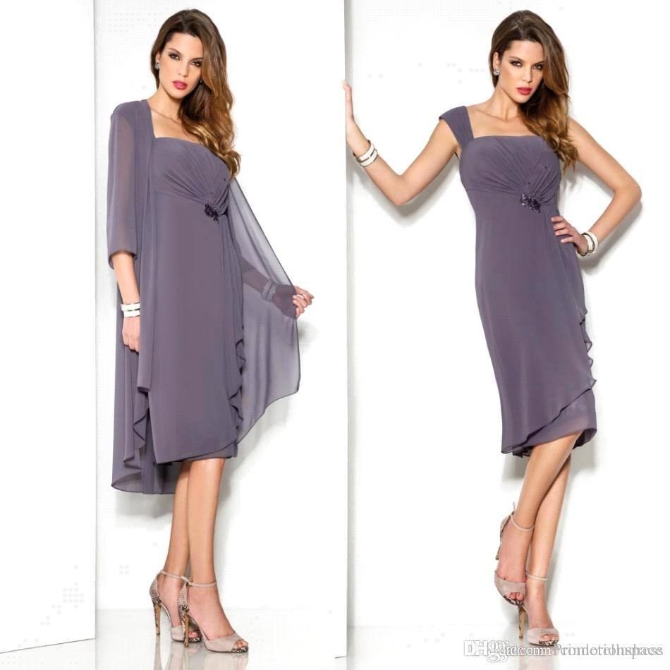 off light purple short motherus dresses suit vintage knee length