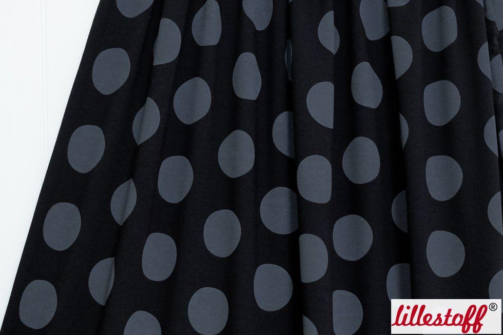 lillestoff » Big Dots, schwarz « // hier erhältlich: http://www.lillestoff.com/bigdots-schwarz.html