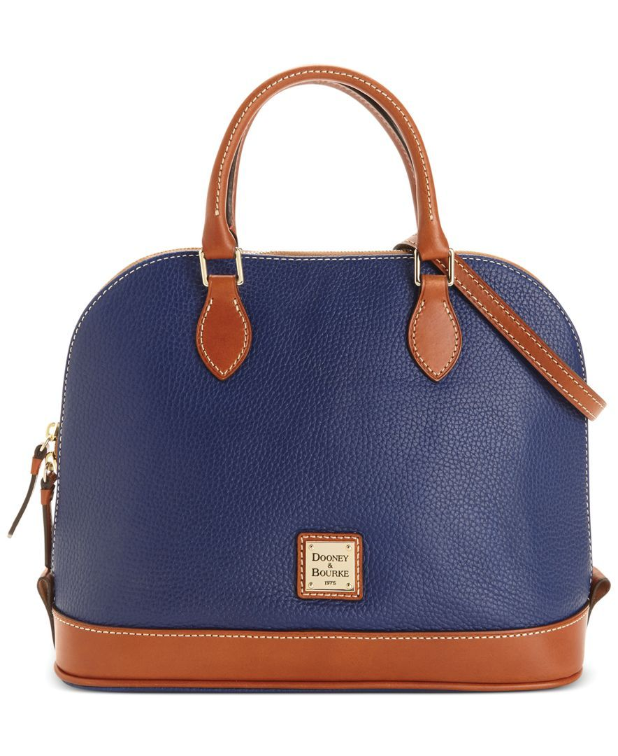 Dooney Bourke Zip Top Satchel Handbags Accessories Macy S