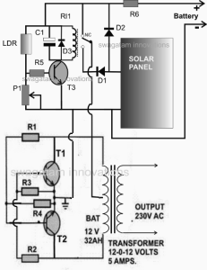 In this post we learn a simple 50 watt solar inverter circuit with a in this post we learn a simple 50 watt solar inverter circuit with a built in asfbconference2016 Images