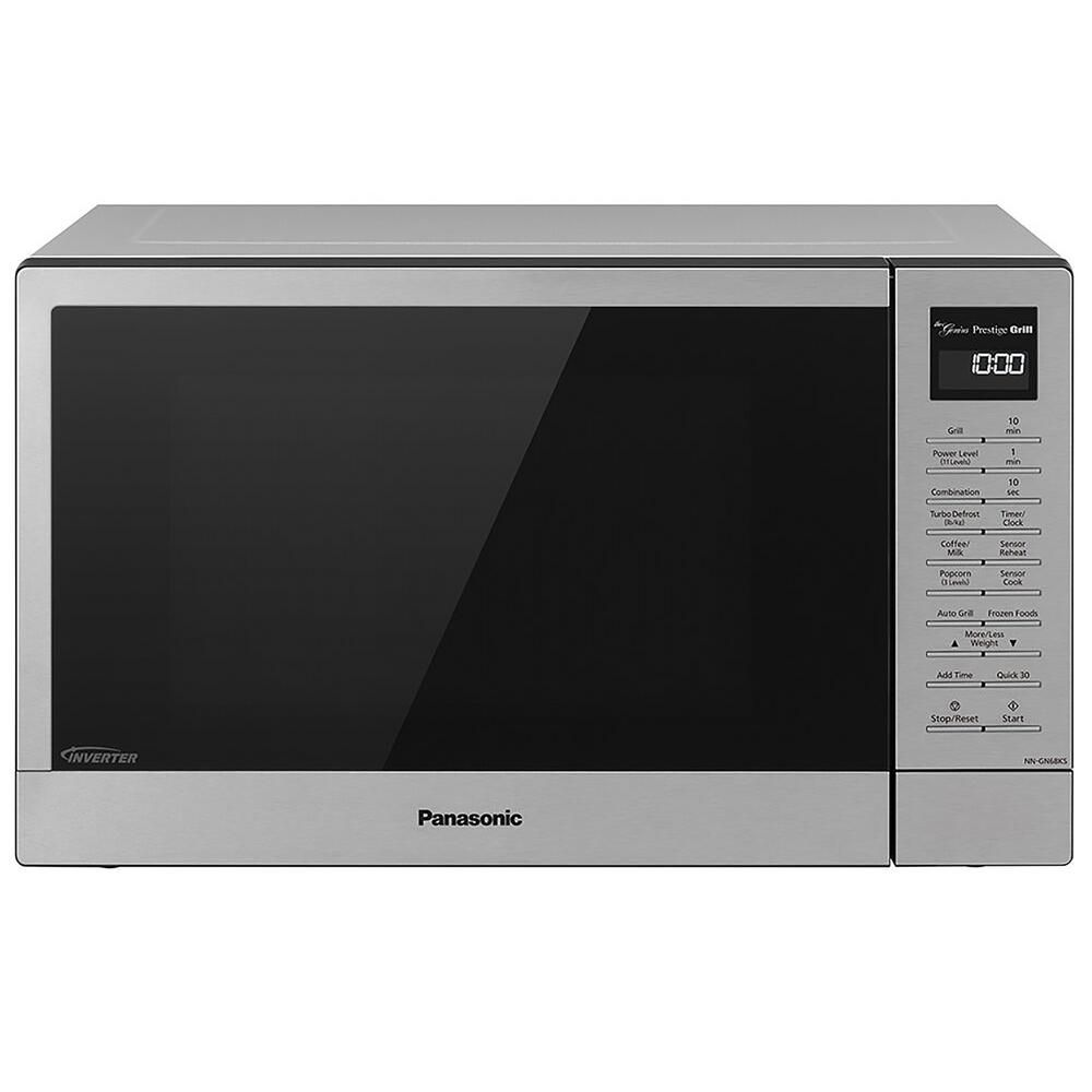 Panasonic 1 1 Cu Ft 1000 Watt Countertop Microwave Oven And Flashxpress Broiler With Inverter Technology In Stainless Steel Silver In 2020 Countertop Microwave Oven Microwave Oven Microwave