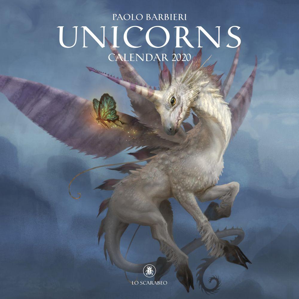 Paolo Barbieri Unicorns Calendar 2020 Rare Animals Majestic