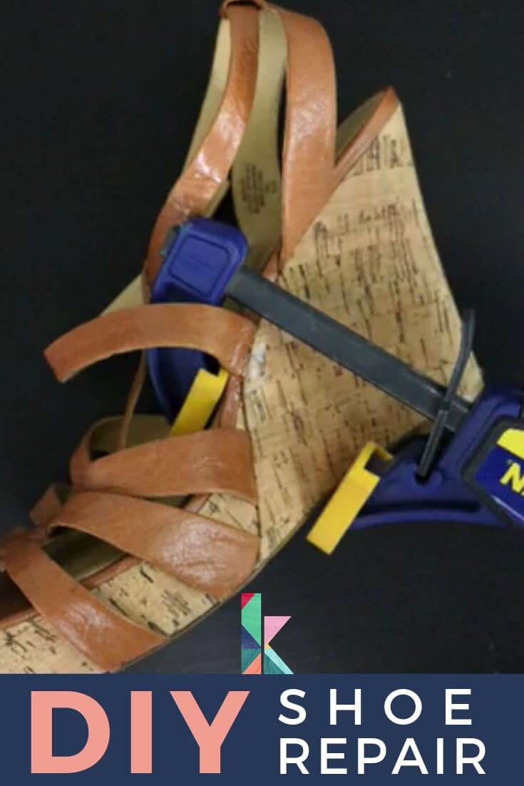 Diy Shoe Repair It S Cheap And Easy Diy Home Decor On A Budget Diy Home Decor Projects Diy