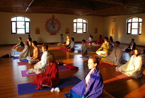 Ashram In India Spiritual Enlightenment Indian Yoga Transformational Travel Yoga Meditation Inspiration