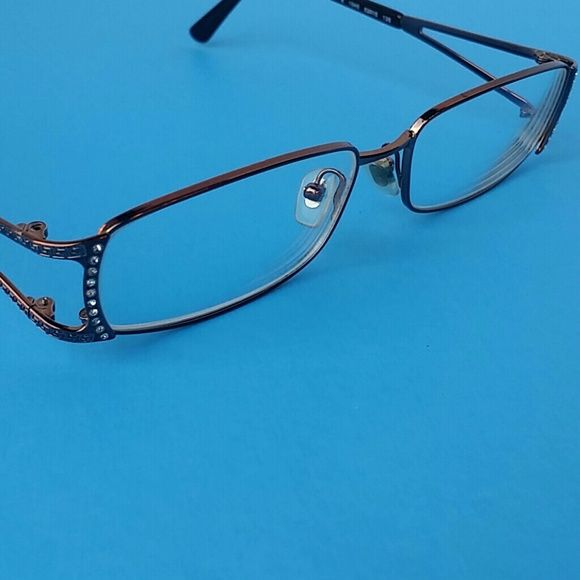 7d4fa6100f4c Versace Crystal Eyeglasses Versace Crystal Embellished Bronx Frame  Eyeglasses For Frames Mint Condition Aside From Missing On Crystal You May  Be Able To ...